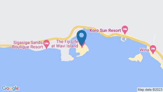 Wavi Island Villas Map