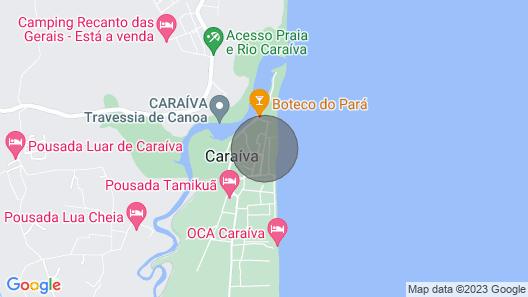 Haus Portal da Praia - Caraiva - Dorf Xandó Map