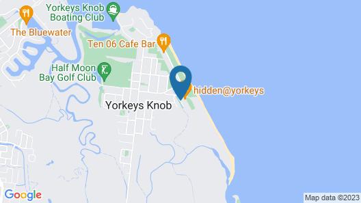 Golden Sands Beachfront Apartment Resort Map