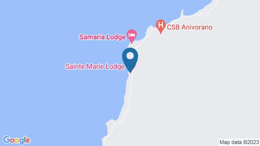 SAINTE MARIE LODGE Map
