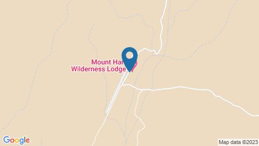 Mt Hart Wilderness Lodge Map