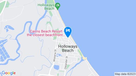 Cairns Beach Resort Map