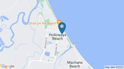 Pacific Sands Holiday Apartments Map