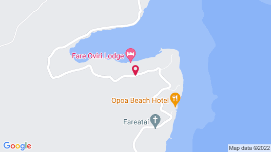 Fare Oviri Lodge Map