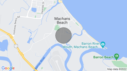 Spacious and light beach house - 7 mins from Cairns CBD Map