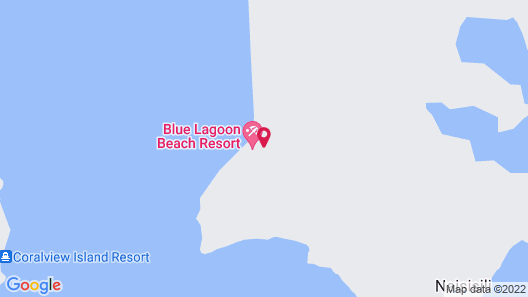 Blue Lagoon Beach Resort Map