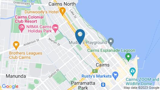 Royal Palm Villas Cairns Map