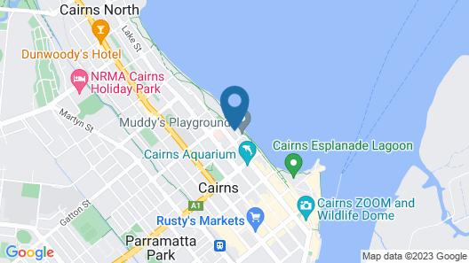 Caravella Backpackers Map