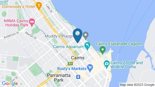 Comfort Inn Cairns City Map