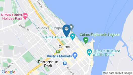 Cascade Gardens Map