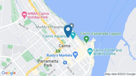 Cairns City Motel Map