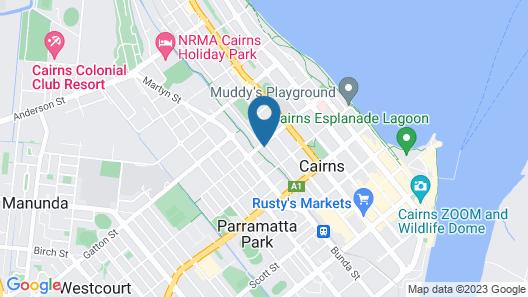 Citysider Cairns Map