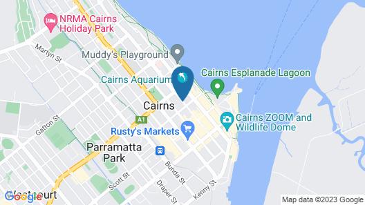 Koala Beach Resort Map