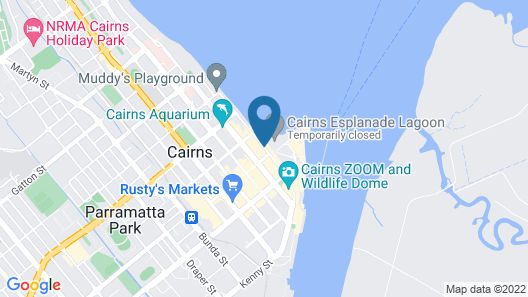 Global Backpackers Cairns Map