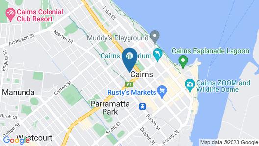City Terraces Cairns Map