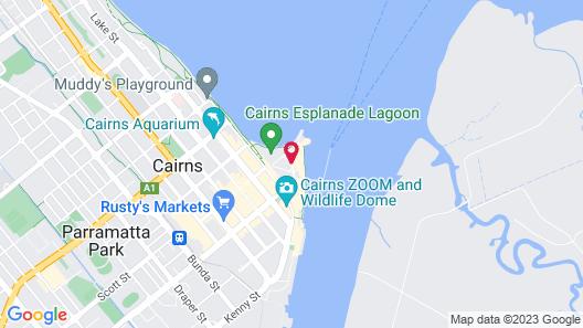 Shangri-La Hotel, The Marina Map