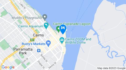 Shangri-La The Marina, Cairns Map