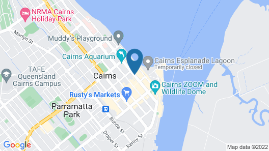 Il Palazzo Holiday Apartments Cairns Map