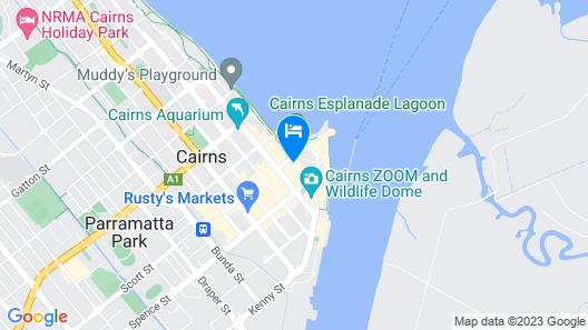 Mantra Esplanade Map
