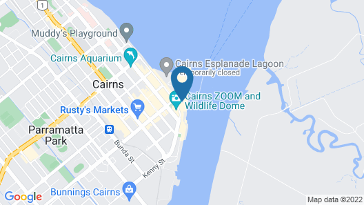 Harbour Lights Luxury Apartments Map