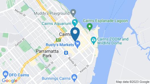 Bounce Cairns Map