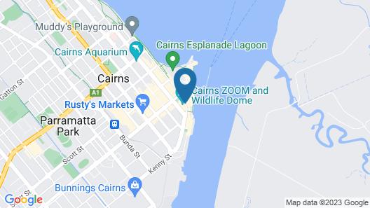 Pullman Reef Hotel Casino Map