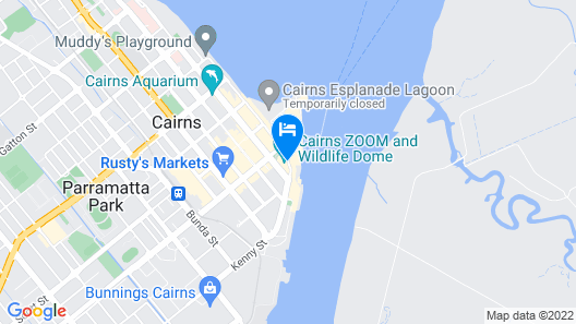 Pullman Reef Hotel Casino Map