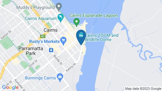Pullman Cairns International Map