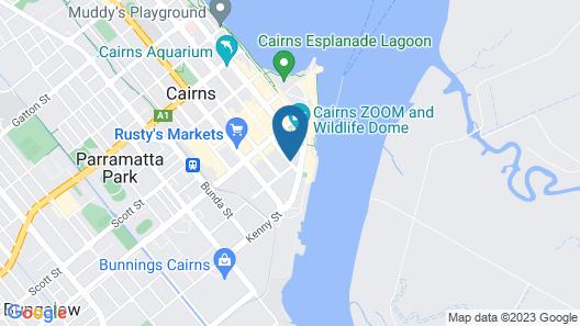 Park Regis City Quays Map