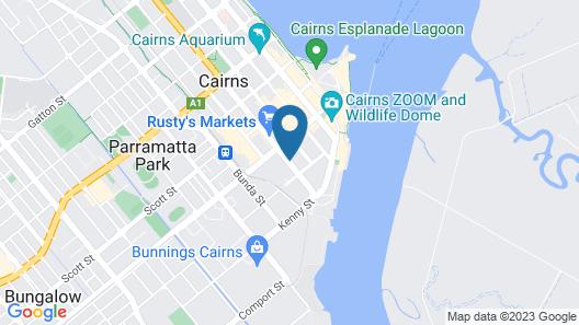 Il Centro Apartment Hotel Map