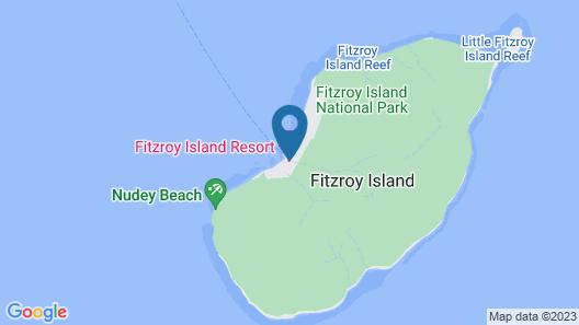 Fitzroy Island Resort Map