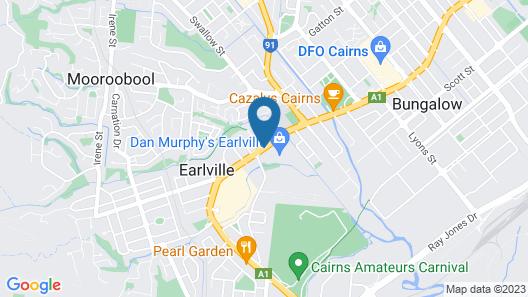 Cairns Southside International Map