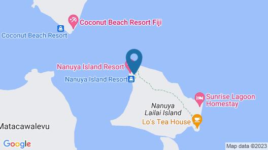 Nanuya Island Resort Map
