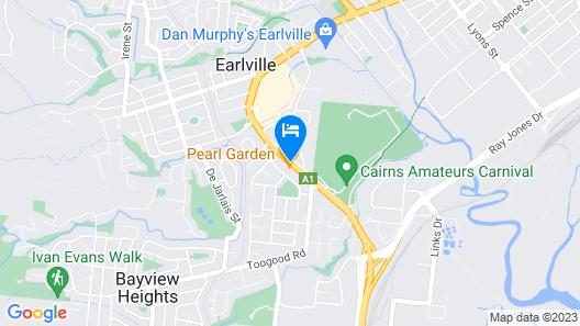 Cannon Park Motel Map
