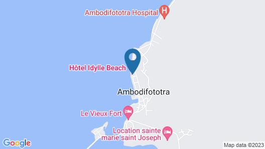 Idylle Beach Map