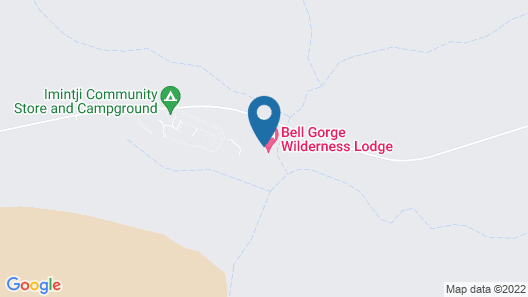 Bell Gorge Wilderness Lodge Map