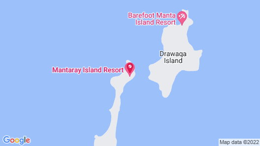Mantaray Island Resort Map