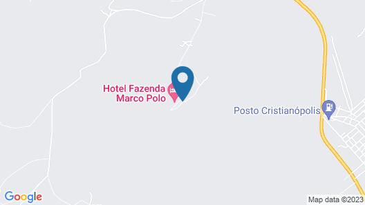 Hotel Fazenda Marco Polo Map