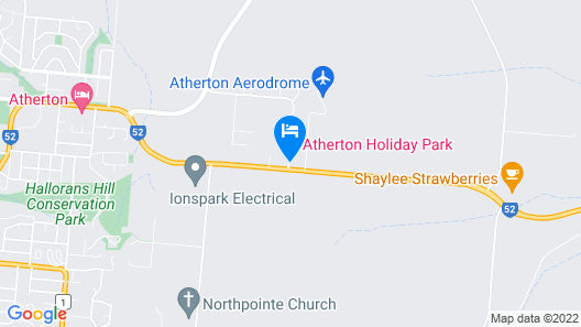 Atherton Holiday Park Map