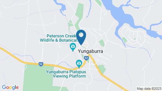 Kookaburra Lodge Map