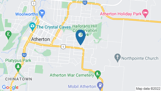 Atherton Travellers Park Map