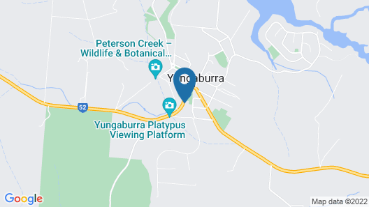 Yungaburra Park Motel Map