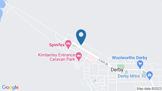 Mud Crab Motel Map