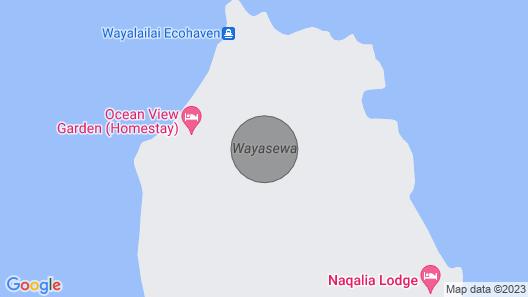 Fijian Family Community Stay in Paradise Map