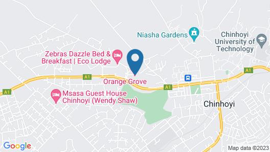 Orange Grove Motel Map