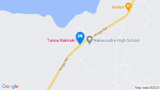 Tanoa Rakiraki Hotel Map