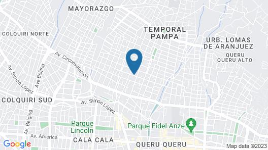 Hotel La Colonia Map