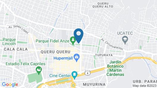 La Tua Casa Hotel Boutique Map