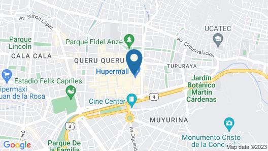 Huper Hotel Boutique Map