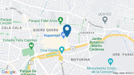 Maison Fiori Recoleta Map